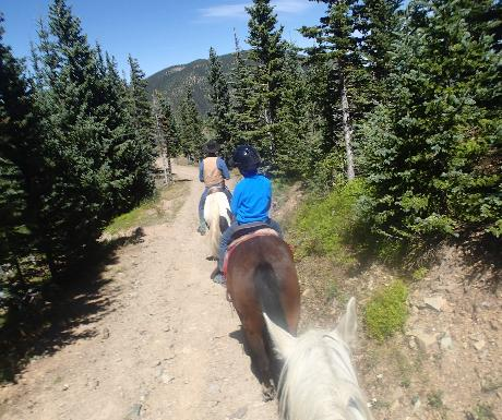 Horseback riding in Taos Ski Valley