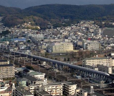 Kyoto bullet train