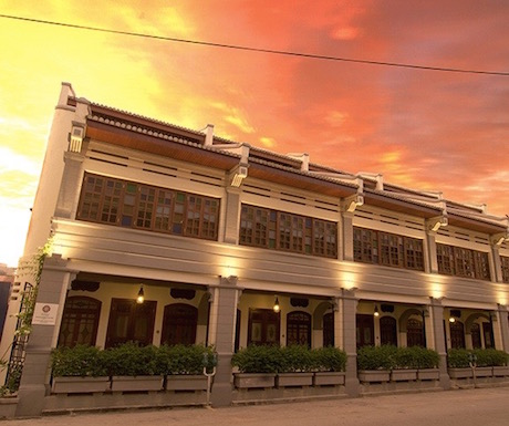Hotel Penaga sunset