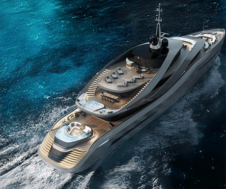 Aurora superyacht