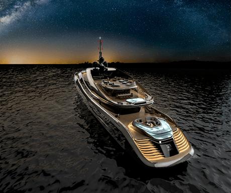 Superyacht Aurora